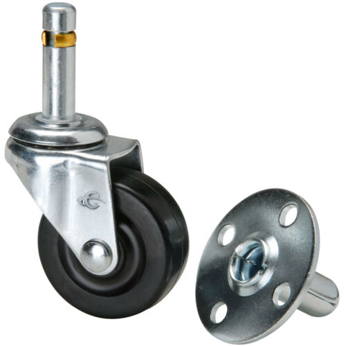 "Penn-Elcom 5295+5299 2/"" Push-In Caster with Metal Socket"