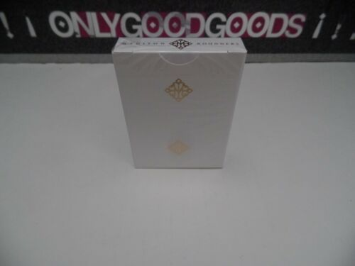 Madison Rounders GOLD Ellusionist Rare Playing cards New Sealed USPCC BICYCLE