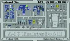 Neu Ätzsatz Eduard Accessories Ss232-1:72 A-10 Thunderbolt II