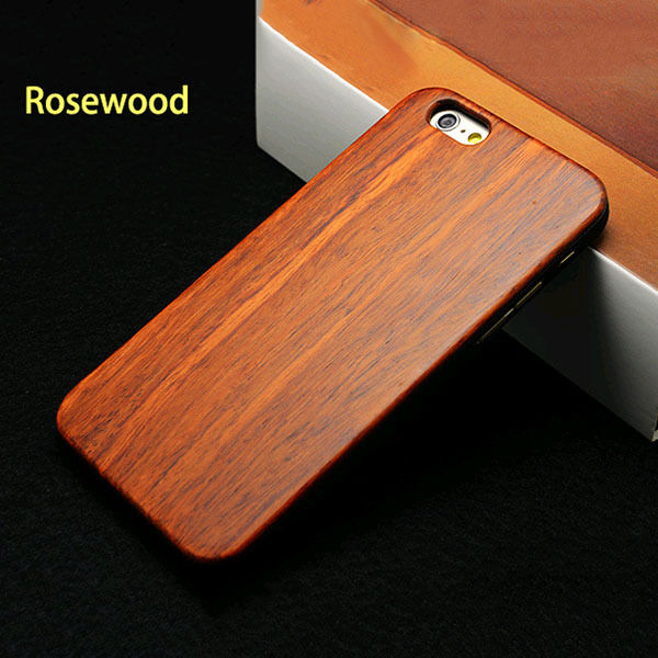Natural Materials Wooden Bamboo+ Plastic Hard Cover Case for iPhone 6 6S /Plus