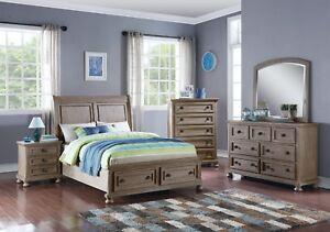 New Classic Furniture Allegra Twin Sleigh Youth Storage 6 Piece