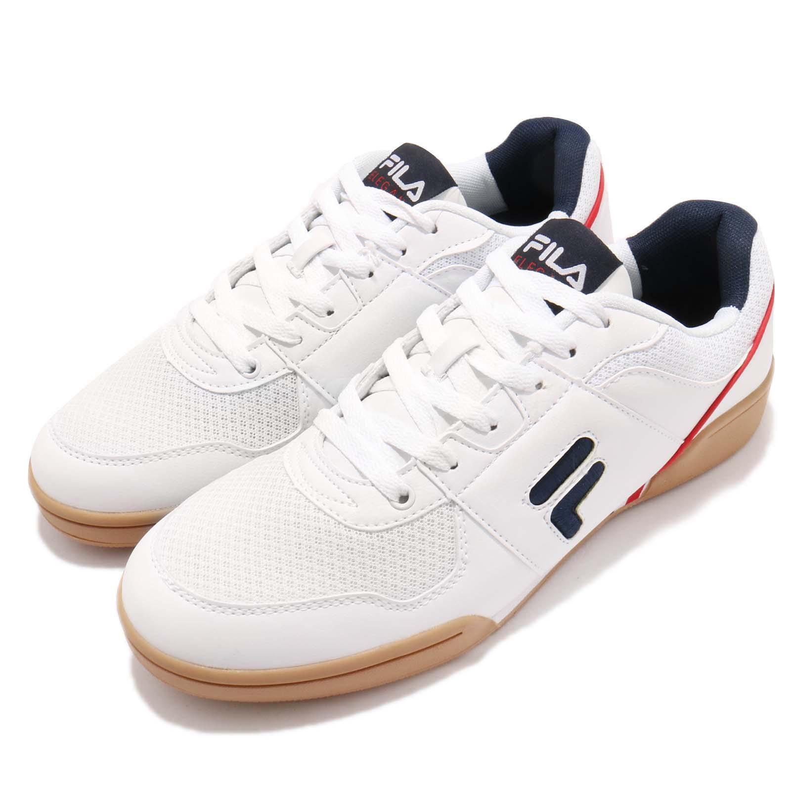Fila C301S blanco Navy rojo Gum Men Lifestyle Casual zapatos zapatillas
