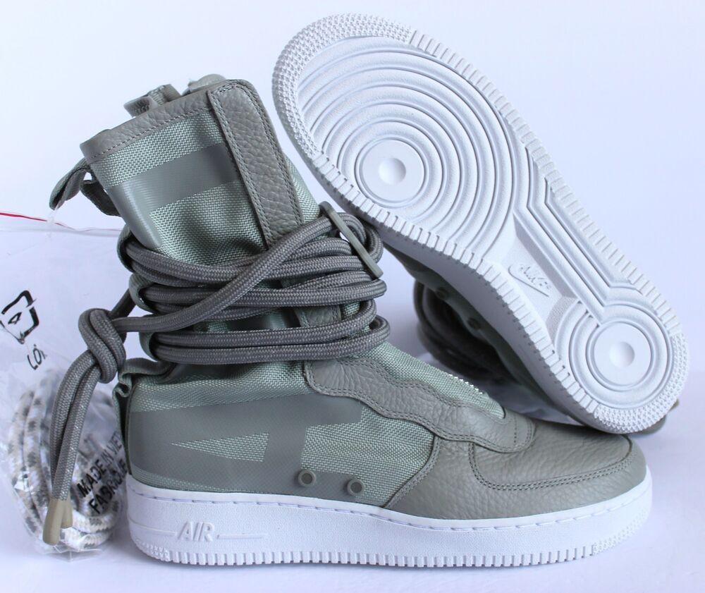 NIKE AIR FORCE 1 SF SAGE AF1 HI SPECIAL FIELD SAGE SF GREEN  Chaussures de sport pour hommes et femmes fd6eb7