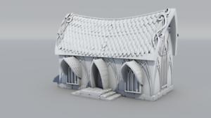 Warhammer-Age-of-Sigmar-Decor-impression-3D-Maison-Elfe-Simple