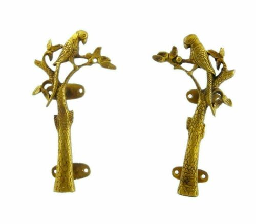 Parrot Shape Brass Door Handle Male Female Bird Design Tree Shape Door Pull BM25