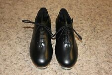 Trimfoot Jazz / Clogging Shoe Black with Stevens Stompers Buck Taps Installed