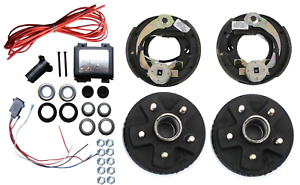 Image Is Loading Add Electric Trailer Brakes Complete Tru Ryde Kit