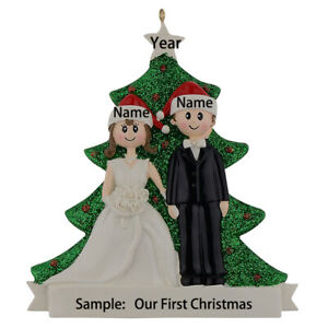 Wedding-Couple-Personalized-Christmas-Ornament-Wedding-Gift-With-Gift-Box