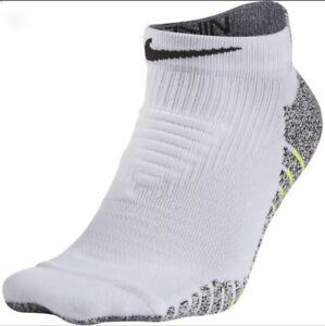 4b0cba6e7 Image is loading NIKE-NikeGrip-ELITE-Lightweight-WHITE-Low-Training-Socks-