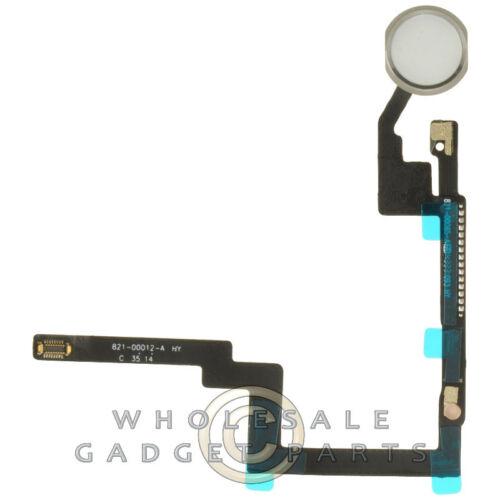 Flex Cable Home Button for Apple iPad Mini 3 White Silver PCB Ribbon Circuit