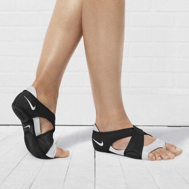 Nike Studio Wrap Print Women Training Yoga Dance Shoe Black 605763 001 (size XS)