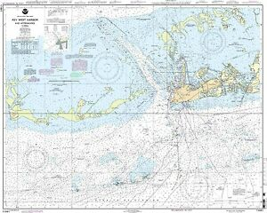 NOAA Chart Key West Harbor and Approaches 42nd Edition 11441