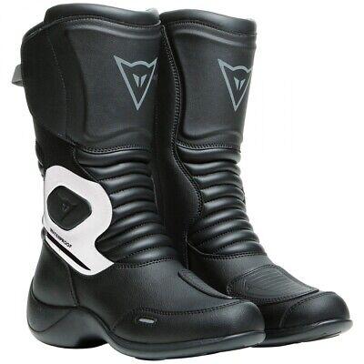 Stivali donna moto Dainese Aurora Lady WP nero bianco 38