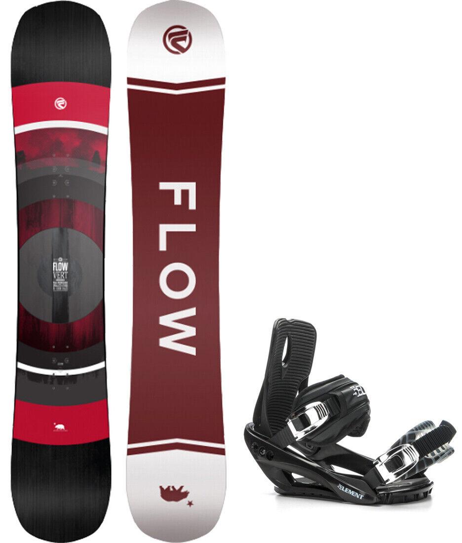 2020 FLOW Grün 152cm Snowboard+Bindings NEW SHAPE