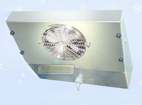 Thin Profile ETL Reach-In Cooler Evaporator 1 Fan Blower 1,000 BTU 160CFM 220V