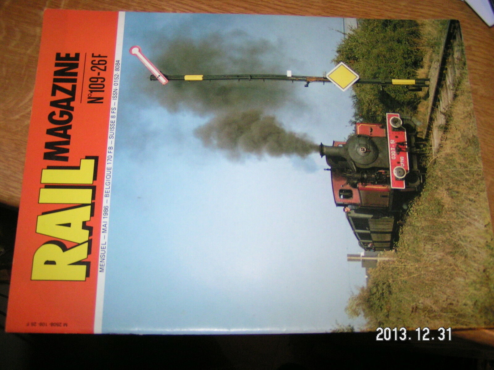Rail Magazine n°109 Saga S.A.C.M de Glehn Grand depot vapeur PLM