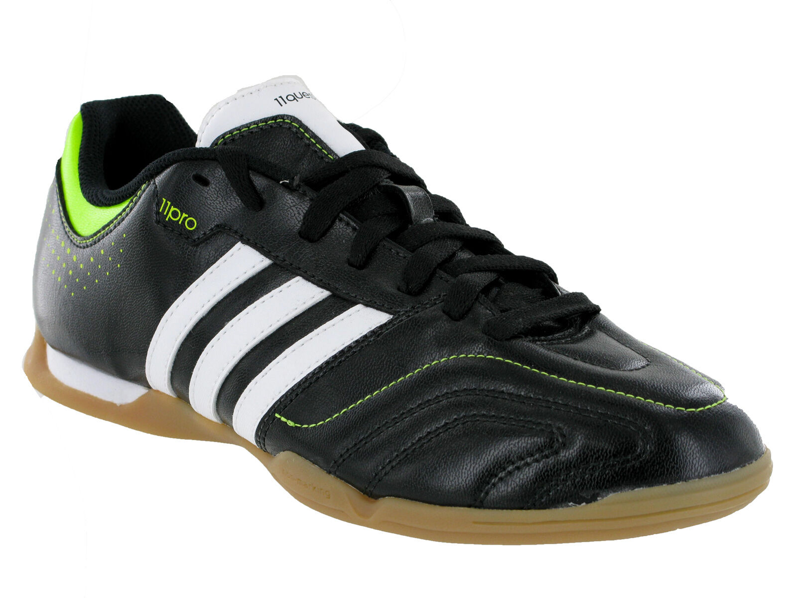 Adidas 11Questra IN Casual Black Fashion Sports Mens Trainers UK6-11 Comfortable and good-looking