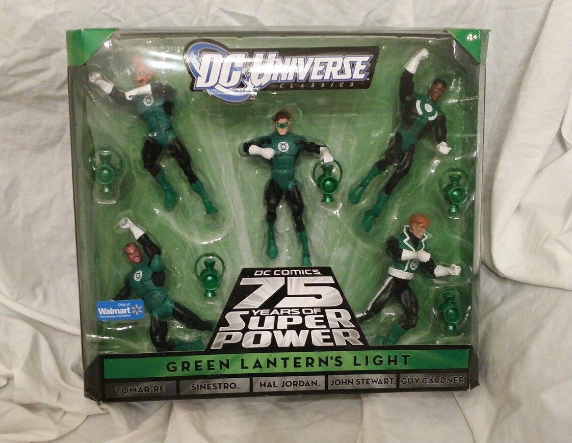 DC Universe Universe Universe Green Lantern 5 Figure Box Set 2bdd79
