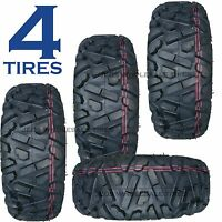 Four 24x8-12 24/8-12 24x8.00-12 24/8.00-12 24x800-12 24-800-12 Mini-truck Tires