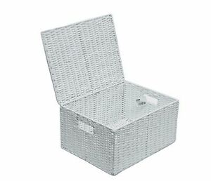 Bon Image Is Loading Extra Large Paper Rope Storage Basket Box With
