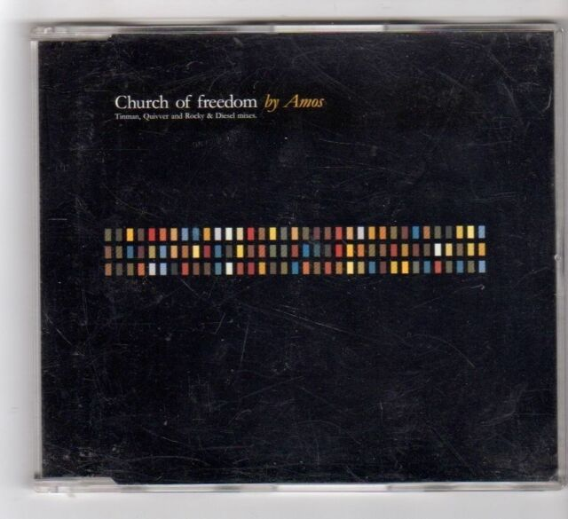 (GB345) Church of Freedom, Amos - 1995 CD