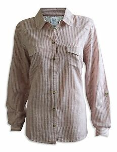 New-M-amp-S-Ladies-Pin-Stripe-Floral-Check-Blouse-Shirt-Top-Smart-Size-8-to-24