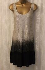 Religion Ombre Sequin Embellished Relaxed Fit Tank Tunic Party Dress M 12 40 New