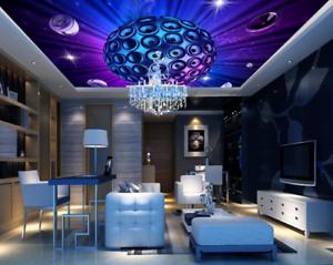 3D purple Kunst Ball 75 Fototapeten Wandbild Fototapete BildTapete Familie DE Kyra