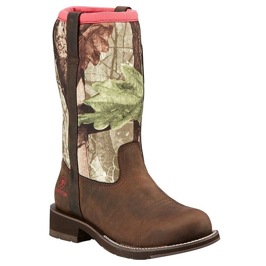 Ariat Ladies Fatbaby All Weather Camo Boot 10016244 NIB