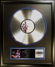 Michael Jackson HIStory Book 1 LP Platinum Non RIAA Record Award Epic Records