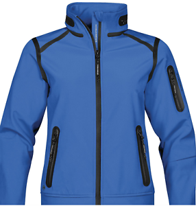 STORMTECH H2XTREME WOMEN'S OASIS SOFTSHELL blueE SIZE LARGE XJ-3    MSRP