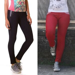Women-Colored-Leggings-Fitness-Pilates-Yoga-Long-Pants-Ladies-Gym-Lycra-Stocking