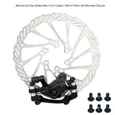 Front//Rear Caliper Disc Brake 160mm Rotor for Mountain Road Bicycle Bike