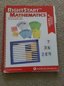 RIGHTSTART TM MATHEMATICS, LEVEL A LESSONS, SECOND EDITION, By Joan A. VG homesc