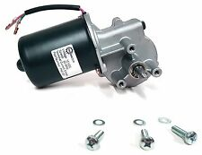 Makermotor 10mm 2 Flat Shaft Gear Motor 12v Low Speed 50 Rpm Dc Mount Screws