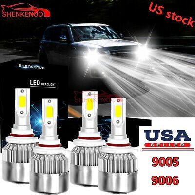 9005+9006+H11 LED Headlight Hi//Lo Bulbs/&Fog Light For Nissan Armada Juke Titan