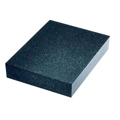 "TTC 12/"" x 18/"" x 3/"" Thick Grade B No Ledge Black Granite Surface Plate"