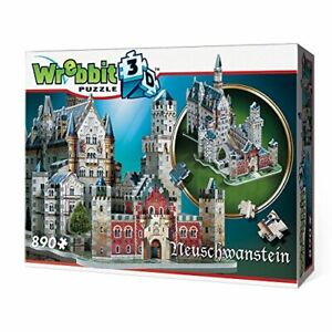 Neuschwanstein-Castle-Germany-3D-Puzzle-890-Pcs-WREBBIT