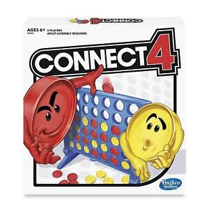 Connect-4-Four-Classic-Family-Fun-Fast-Paced-Board-Game-Hasbro-Fast-shipping-new