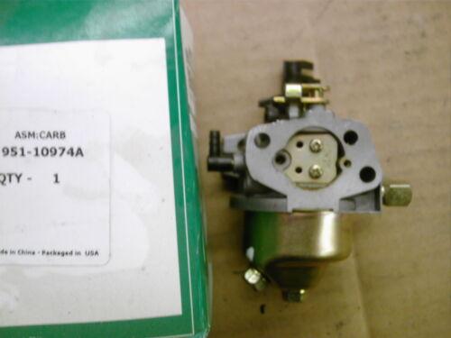 MTD carb carburator snowblower Briggs /& Stratton Tecumseh 951-10974A
