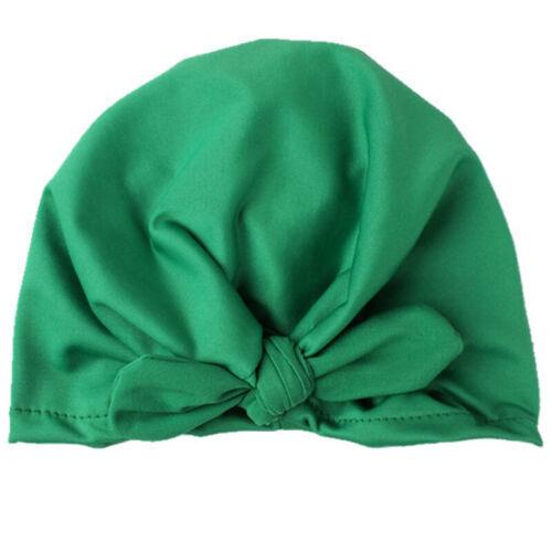 Toddler Baby Kids Knot Turban Head Wrap Headband Rabbit Ear Hats Bunny Ear Cap