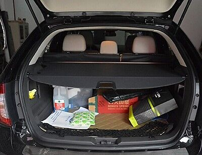 Trunk Shade Black Cargo Cover For Ford Edge  Low Equipped Model