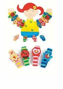 Woodyland Armbänder Verschiedene Gelb Rosa Spielzeug (Zufällige Selected)
