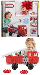 Little-Tikes-Waffle-Blocks-Fire-Truck-Construction-Build-Learning-Boy-Girl-Toy
