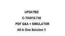 SAP CERTFIED DEVELOPMENT ASSOCIATE -ABAP WITH SAP NETW7.4 Exam QA PDF&Simulator