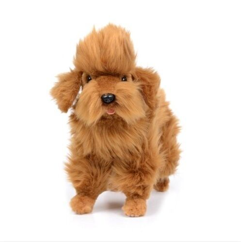Miss oh/Stuffed Plush Soft Toy Stofftier realistic Poodle/30cm.L  6786
