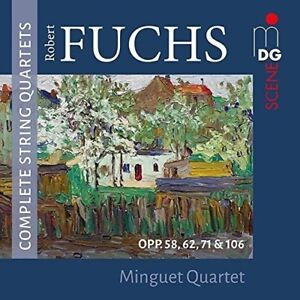 Robert-Fuchs-Complete-String-Quartets-New-CD-UK-Import
