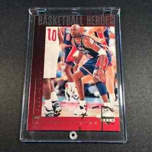 MICHAEL-JORDAN-1994-UPPER-DECK-42-HEROES-OF-BASKETBALL-USA-BASKETBALL-GOLD