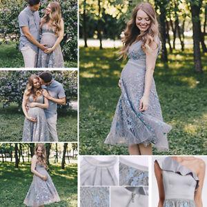 62d164ae85a85 Image is loading Ever-Pretty-Pregnant-Dresses-V-Neck-Organza-Bridesmaid-