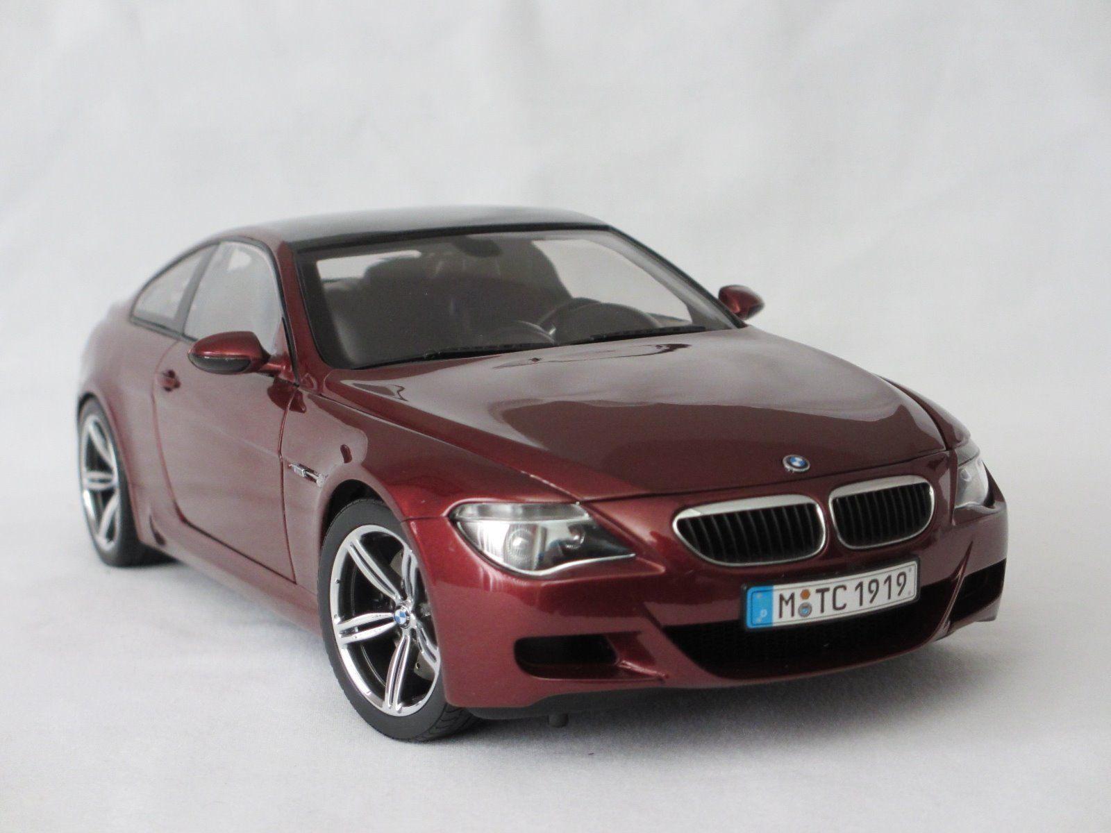 1 18 Kyosho  BMW M6 E63 Dealer Edition rouge voiturebon Fiber  80430398134 - Rarity  Réponses rapides